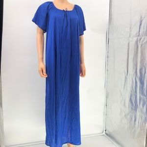 Only Necessities Nightgown navy sz M 14/16
